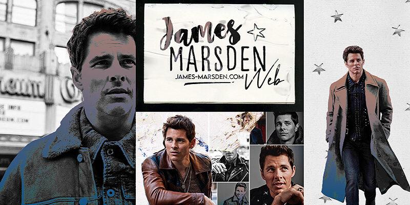 Grand Opening of James Marsden Web!